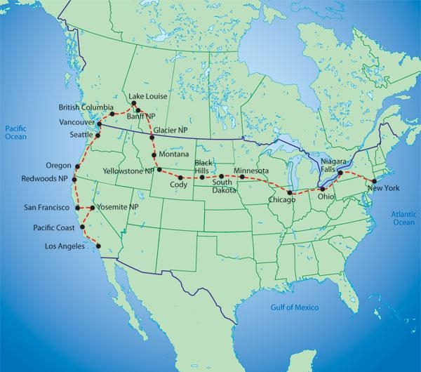 The Big Trip Itinerary Journal